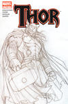 Cover for Thor (Marvel, 2007 series) #1 [3rd Printing Sketch Variant Cover]