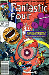 Cover Thumbnail for Fantastic Four (1961 series) #338 [Newsstand]