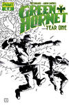 Cover for Green Hornet: Year One (Dynamite Entertainment, 2010 series) #9 [Black, White and Green Retailer Incentive]