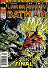 Cover for Liga da Justiça e Batman (Editora Abril, 1994 series) #24