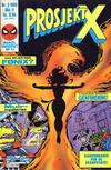 Cover for Prosjekt X (Semic, 1984 series) #3/1985