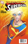 Cover for Supergirl (DC, 2005 series) #1 [Newsstand - Michael Turner Cover]