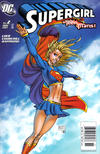Cover for Supergirl (DC, 2005 series) #2 [Newsstand]