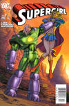 Cover for Supergirl (DC, 2005 series) #3 [Newsstand - Michael Turner Cover]