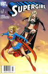 Cover for Supergirl (DC, 2005 series) #5 [Newsstand]