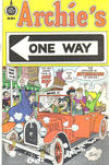 Cover for Archie's One Way (Fleming H. Revell Company, 1973 series) #[nn] [49-Cent Variant]