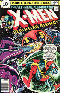 Cover Thumbnail for The X-Men (Marvel, 1963 series) #99 [British]