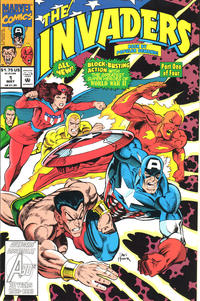 Cover Thumbnail for The Invaders (Marvel, 1993 series) #1 [Direct Edition]