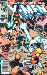 Cover Thumbnail for The Uncanny X-Men (Marvel, 1981 series) #175 [Newsstand]