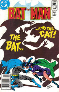 Cover Thumbnail for Batman (DC, 1940 series) #355 [Newsstand]