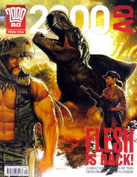 Cover Thumbnail for 2000 AD (Rebellion, 2001 series) #1724
