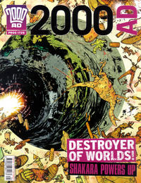 Cover Thumbnail for 2000 AD (Rebellion, 2001 series) #1725