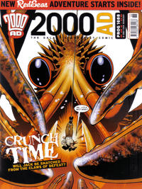 Cover Thumbnail for 2000 AD (Rebellion, 2001 series) #1688