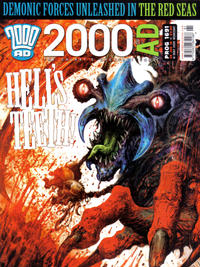 Cover Thumbnail for 2000 AD (Rebellion, 2001 series) #1691