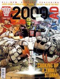 Cover Thumbnail for 2000 AD (Rebellion, 2001 series) #1700