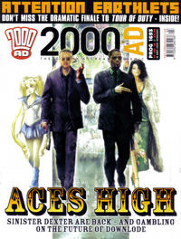 Cover Thumbnail for 2000 AD (Rebellion, 2001 series) #1693
