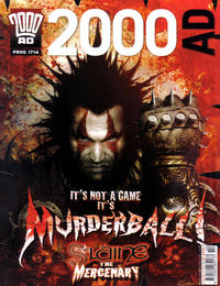 Cover Thumbnail for 2000 AD (Rebellion, 2001 series) #1714