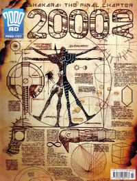 Cover Thumbnail for 2000 AD (Rebellion, 2001 series) #1727