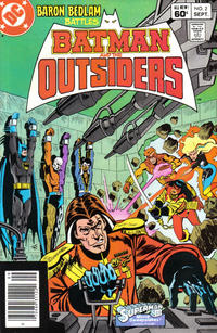 Cover Thumbnail for Batman and the Outsiders (DC, 1983 series) #2 [Newsstand]