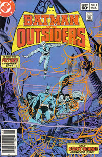 Cover Thumbnail for Batman and the Outsiders (DC, 1983 series) #3 [Newsstand]