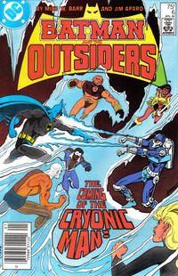 Cover Thumbnail for Batman and the Outsiders (DC, 1983 series) #6 [Newsstand]