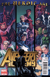 Cover Thumbnail for Avengers Academy (Marvel, 2010 series) #2 [2nd printing variant]
