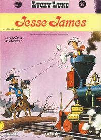 Cover Thumbnail for Lucky Luke (Semic, 1977 series) #30 - Jesse James [1. opplag]