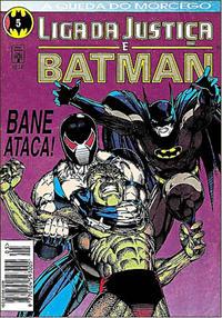 Cover Thumbnail for Liga da Justiça e Batman (Editora Abril, 1994 series) #5