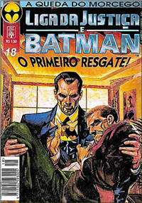 Cover Thumbnail for Liga da Justiça e Batman (Editora Abril, 1994 series) #18
