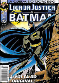 Cover Thumbnail for Liga da Justiça e Batman (Editora Abril, 1994 series) #23