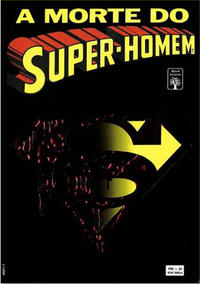 Cover Thumbnail for A Morte do Super-Homem (Editora Abril, 1993 series)