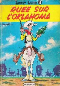 Cover Thumbnail for Lucky Luke (Dupuis, 1949 series) #14 - Ruée sur l'Oklahoma