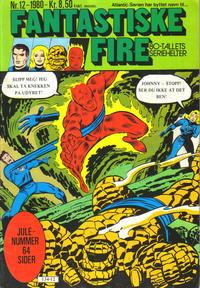 Cover Thumbnail for Fantastiske Fire (Atlantic Forlag, 1980 series) #12/1980