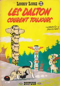 Cover Thumbnail for Lucky Luke (Dupuis, 1949 series) #23 - Les Dalton courent toujours