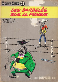 Cover Thumbnail for Lucky Luke (Dupuis, 1949 series) #29 - Des barbelés sur la prairie