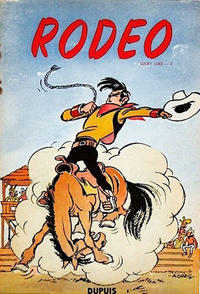 Cover Thumbnail for Lucky Luke (Dupuis, 1949 series) #2 - Rodéo