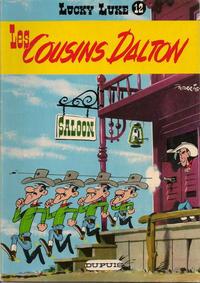 Cover Thumbnail for Lucky Luke (Dupuis, 1949 series) #12 - Les cousins Dalton