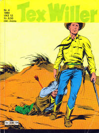 Cover Thumbnail for Tex Willer (Semic, 1977 series) #4/1980