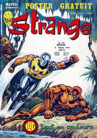 Cover Thumbnail for Strange (Editions Lug, 1970 series) #110