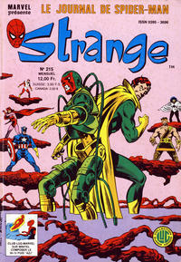 Cover Thumbnail for Strange (Editions Lug, 1970 series) #215