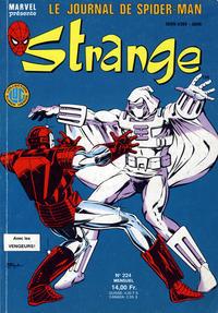 Cover Thumbnail for Strange (Editions Lug, 1970 series) #224