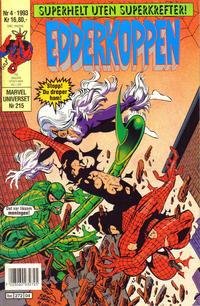 Cover Thumbnail for Edderkoppen (Semic, 1984 series) #4/1993