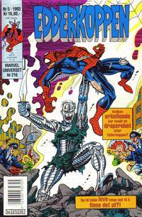 Cover Thumbnail for Edderkoppen (Semic, 1984 series) #5/1993