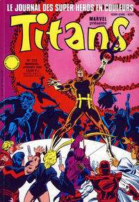 Cover Thumbnail for Titans (Semic S.A., 1989 series) #120