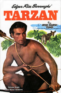 Cover Thumbnail for Edgar Rice Burroughs' Tarzan: The Jesse Marsh Years (Dark Horse, 2009 series) #8