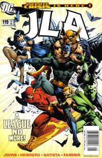 Cover for JLA (DC, 1997 series) #119 [Newsstand]