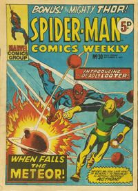 Cover Thumbnail for Spider-Man Comics Weekly (Marvel UK, 1973 series) #30