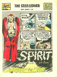 Cover Thumbnail for The Spirit (Register and Tribune Syndicate, 1940 series) #12/3/1950