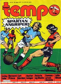 Cover Thumbnail for Tempo (Hjemmet / Egmont, 1966 series) #34/1977