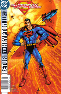 Cover Thumbnail for Action Comics (DC, 1938 series) #793 [Newsstand]